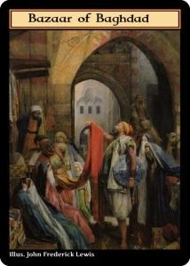 bazaar of baghdad card