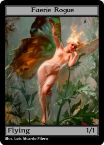 black faerie rogue token
