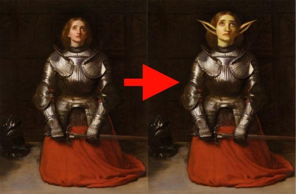 Joan of Arc 1865 by John Everett Millais