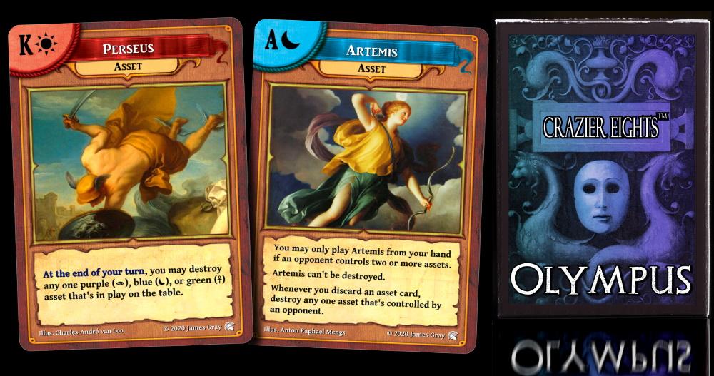 olympus cards 2
